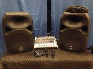 Powered sound system