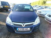 2009 VAUXHALL ASTRA 1.8i VVT Life 5dr [AC] CHOICE OF 3 ASTRA IN STOCK