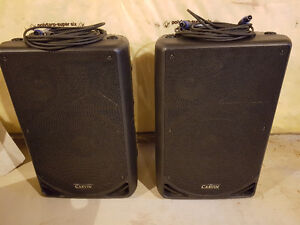 Speakers three way Carvin professional