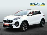 2021 Kia Sportage 1.6 CRDi 48V ISG GT-Line S 5dr DCT Auto Estate Hybrid Electric