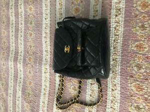 Chanel rucksack and crossbody purse authentic