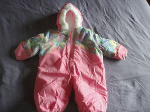 Girls Newborn Winter Snowsuit & Spring Outerwear