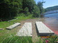 Boat Docks 25' x 5' (Two available)