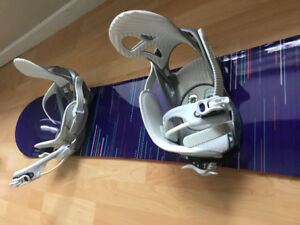 First Lite K2 Snowboard and bindings - only used twice