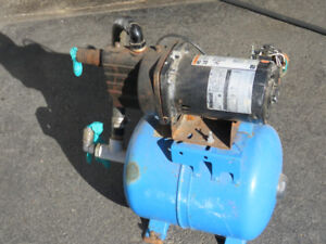 Shallow well pump and Tank