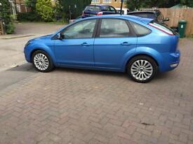 2009 Ford Focus tdci dpf titanium in blue