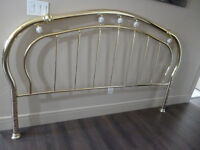 King Brass Headboard