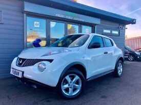 2012 Nissan Juke 1.5dCi ( 110ps ) Acenta **FSH - White - Diesel -Cheap Tax**