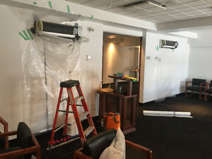 Nettoyage d'air climatisé et thermopompe mural  et réparation