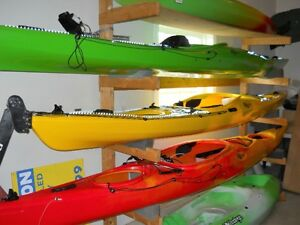 Kayaks and Sportspal Canoes