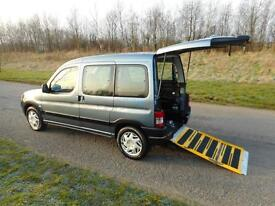 2008 Peugeot Partner Combi 1.6 Hdi 5 SEATS, 56K, Wheelchair Accessible Vehicle