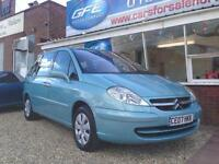 2007 07 Citroen C8 2.0 HDi 16v SX 7 SEATER FINANCE AVAILABLE