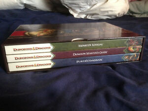 Dungeons & Dragons 4th Ed. Core Rulebook Collection Hardcover