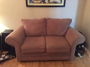 Cloth couch and love seat Kitchener / Waterloo Kitchener Area image 1
