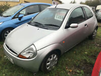 2005 FORD KA COLLECTION 1.3 SILVER LONG MOT P/X TO CLEAR
