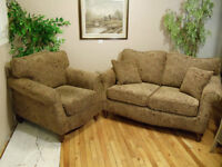 """Loveseat and Chair by """"Superstyle"""""""