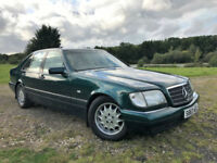 MERCEDES-BENZ S 280 S REG 2.8 PETROL AUTO TANK SHAPE ONE YEAR MOT CLEAN EXAMPLE