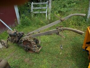 Antique Walk Behind Garden Tractor.