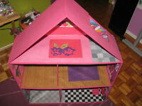 Grande maison de poupée pliable / Big Folding Doll House