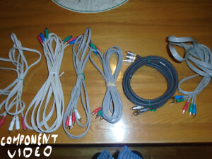audio/visual/internet/coaxial cables