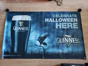 Guinness Banner Perfect for Bar or Man Cave