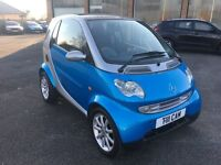 2003 Smart car 698cc, 1 year MOT, immaculate inside and out, one off colour