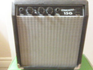 Starcaster 15g practice amp used
