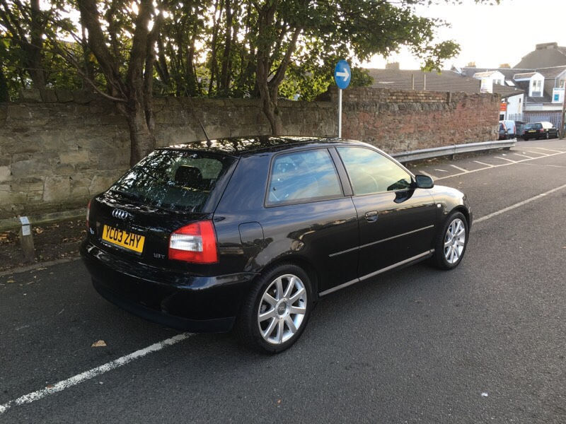 2003 audi a3 1 8t sport black recaros coilovers in ardrossan north ayrshire gumtree. Black Bedroom Furniture Sets. Home Design Ideas