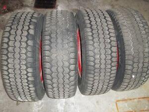 four all season tires on rims, 235/70/16