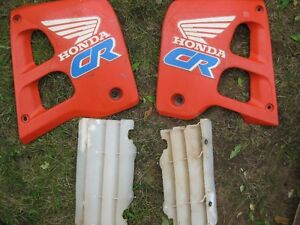 cr 500 side covers/ rad shrouds for sale