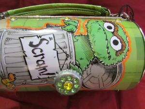 Oscar the Grouch tin tote bag - brand new!