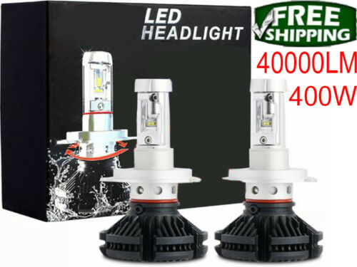 2018 9005 9140 9145 Cree LED Headlight Kit 400W 6000K 40000LM High Low Beam Bulb