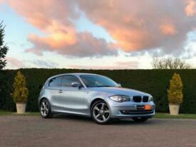 image for BMW 1 SERIES 116D SPORT 2.0 3DR 2010 (BLUE) 128K M.O.T AUG 2021 FSH 1 KEY A/C