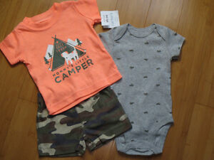Boys Summer Outfits - 3 Mths London Ontario image 3