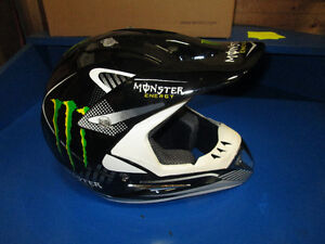 MONSTER HELMETS MOTOCROSS BRAND NEW IN STOCK FREE SHIP Prince George British Columbia image 3