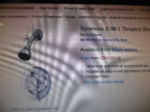 Symmons S-96-1 Temptrol Shower Valve Brand New in Box  Brand new
