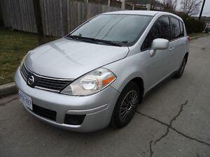 2007 Nissan Versa Hatchback Auto 184756k.m E-Test,Cert $2800.00