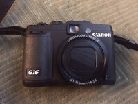 Almost New Canon G16