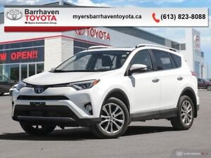 2016 Toyota RAV4 Limited  - Navigation -  Sunroof - $185.14 B/W
