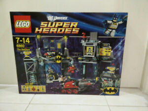 NEW SEALED LEGO Super Heroes The Batcave 6860