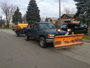 Arctic Tailgate Salter Sand Spreader and Trailer For Sale