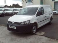 Volkswagen Caddy 1.6TDI 102ps Startline DIESEL MANUAL WHITE (2015)