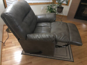 Only $500 -Leather Rocker Recliner Chair for (Reduced)