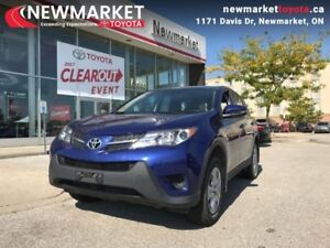 2015 Toyota RAV4 FWD LE  - one owner - local - trade-in - $71.66