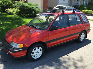 1991 Honda Civic Wagon RT-4WD Familiale