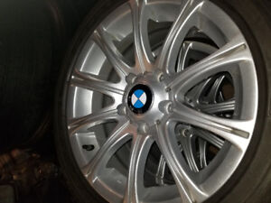 BMW mags and winter tires Dunlap 205/55r16