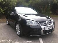 2008 VOLKSWAGEN GOLF R32 DSG 3 DOOR IN DIAMOND BLACK PEARL