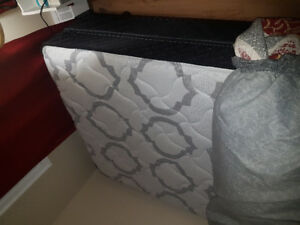 Double Bed: Mattress, Box spring, and Frame. Pick up Only.