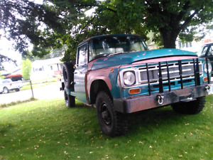 1968 international harvester 1200c 4x4