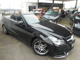 Mercedes E250 CDI AMG SPORT (obsidian black) 2013